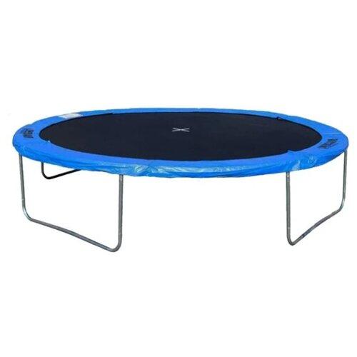 Каркасный батут DFC Trampoline Fitness 6FT-TR 183х183х50 см синий