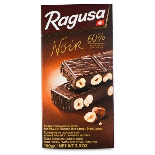 шоколад cachet organic органический горький 57% с лесными ягодами 100 г Шоколад Ragusa горький с трюфелем и лесными орехами, 60% какао, 100 г