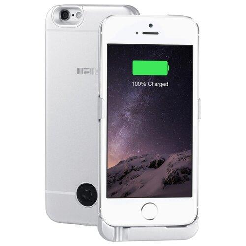Купить Чехол-аккумулятор INTERSTEP Metal battery case для iPhone 5/5S/SE silver