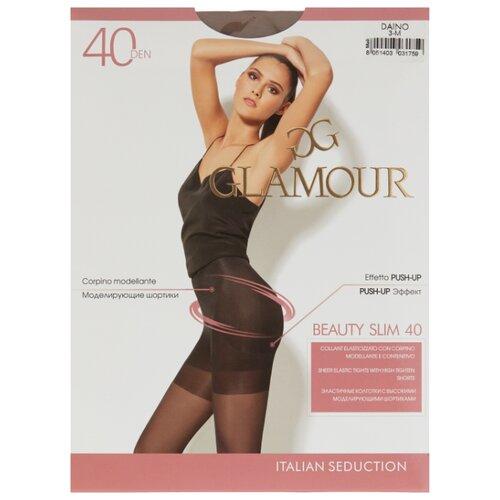 Колготки Glamour Beauty Slim 40 den, размер 3-M, daino (бежевый) колготки glamour beauty shape 40 den размер 4 l daino бежевый