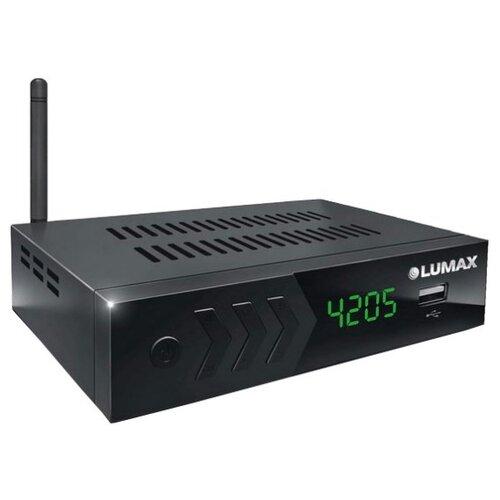Фото - TV-тюнер LUMAX DV-4205HD черный tv тюнер lumax dv 1103hd
