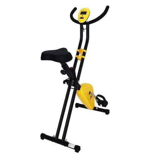 Фото - Вертикальный велотренажер DFC B211B желтый/черный вертикальный велотренажер fitex pro u