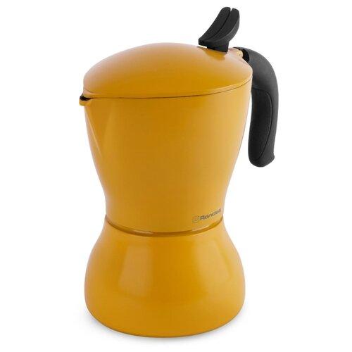 Кофеварка Rondell Sole RDS-1116 (450 мл) желтый