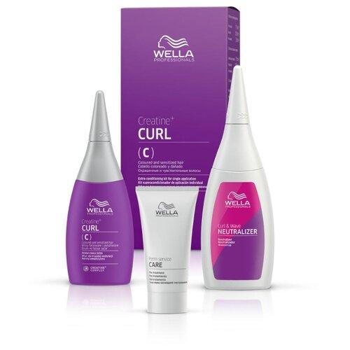 Wella Professionals Набор Creatine+ Curl для окрашенных и чувствительных волос