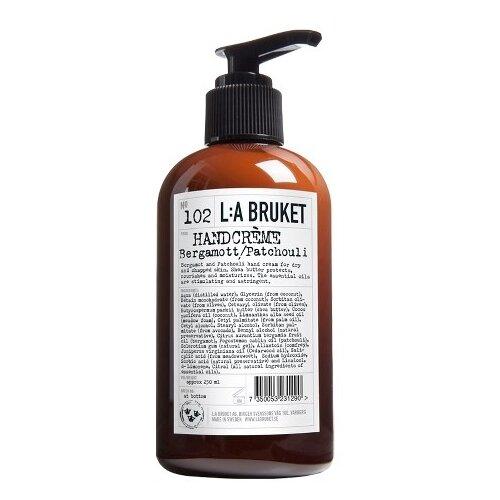 Фото - Крем для рук L:A BRUKET 102 Bergamot/Patchouli 250 мл l a bruket facial toner and refresher no 099 chamomile bergamot