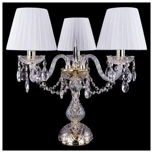 Настольная лампа Bohemia Ivele Crystal 1406L/3/141-39 G SH2-160, 120 Вт настольная лампа bohemia ivele crystal 1406l 3 141 39 g sh13a 160 120 вт