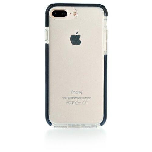 Фото - Чехол-накладка Gurdini Crystal Ice для Apple iPhone 6 Plus/7 Plus/8 Plus черный чехол накладка yoho ypzch678p для apple iphone 6 plus iphone 6s plus iphone 7 plus iphone 8 plus красный черный