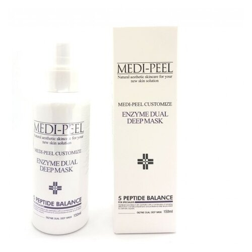 MEDI-PEEL Кислородная маска Enzyme Dual Deep Mask, 150 мл набор medi peel premium daily
