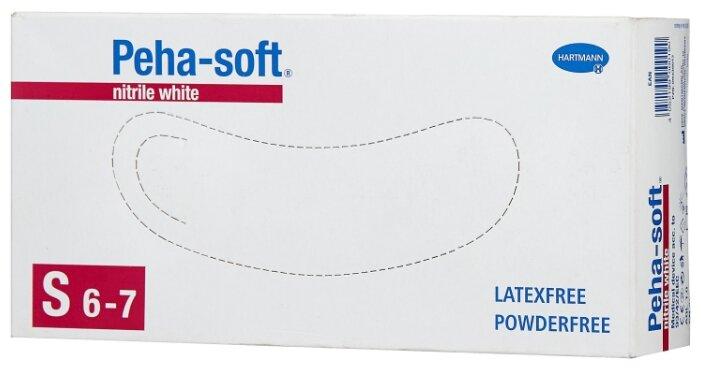 Перчатки смотровые Hartmann Peha-soft nitrile