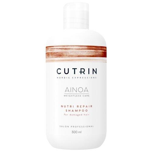 Cutrin шампунь Ainoa Nutri Repare 300 мл cutrin ainoa volume boost shampoo