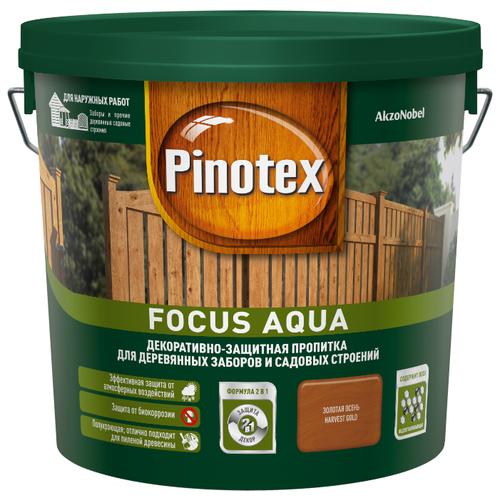 Биоцидная пропитка Pinotex Focus Aqua 5 л