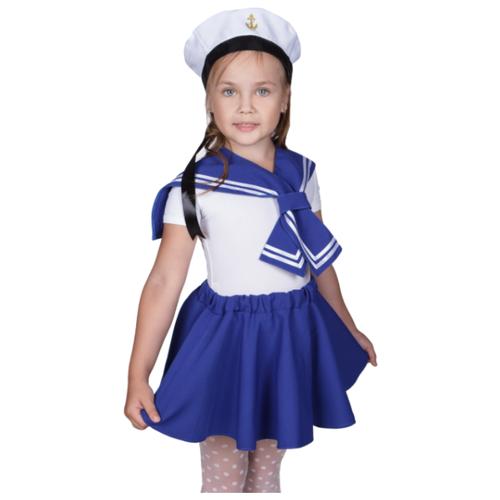 Купить Костюм ВИНИ Морячка 2 (ВК-92007/1), синий, размер 110-116, Карнавальные костюмы