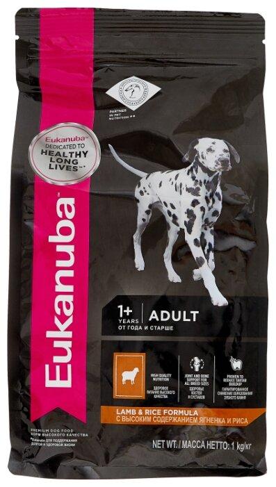 Корм для собак Eukanuba для здоровья кожи и шерсти, ягненок