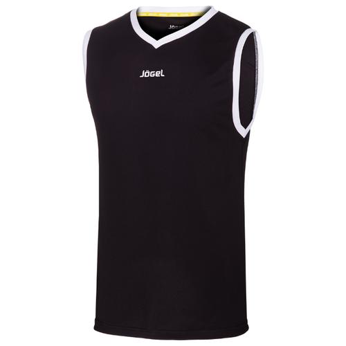 Купить Майка Jogel JBT-1020 размер YM, черный/белый, Футболки и топы