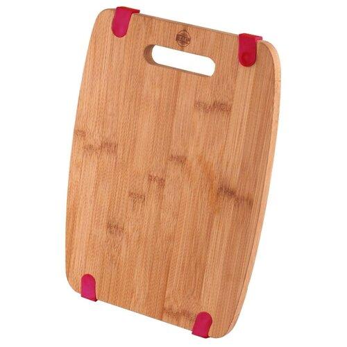Разделочная доска TAC ТК 0338 S 21,5х30,5х1,5 см деревянный/красныйРазделочные доски<br>