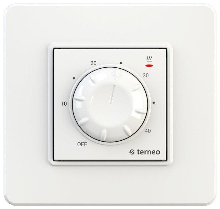 Купить Терморегулятор Terneo RTP белый по низкой цене с доставкой из Яндекс.Маркета (бывший Беру)