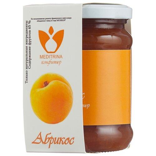 Конфитюр MEDITRINA из абрикосов, банка 300 г