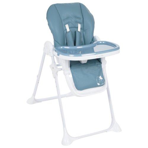 Стульчик для кормления Capella S-215 синий стульчик для кормления babys piggy розовый