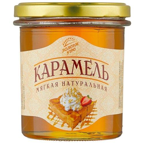 Сироп Золотое утро Карамель мягкая натуральная 400 г vedrenne карамель сироп 0 7 л