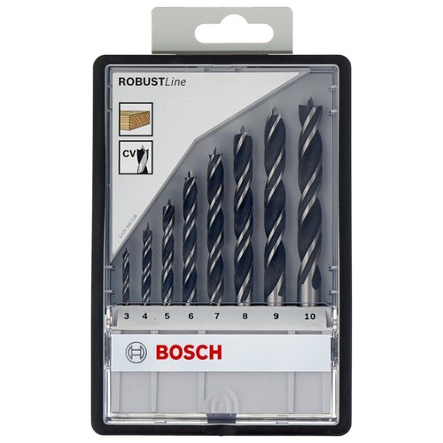 Набор сверл BOSCH Robust Line 2.607.010.533, 8 шт. bosch robust line silver percussion 2607010524