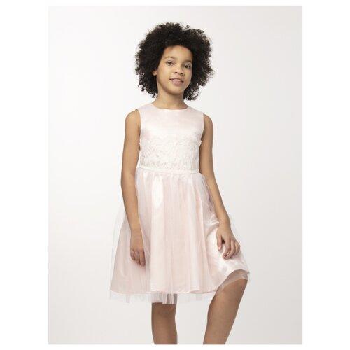 Купить Платье Смена размер 134/64, персиковый, Платья и сарафаны