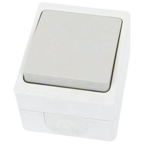 Выключатель 1-полюсный TDM ЕLECTRIC SQ1803-0001,10А, белый датчик движения tdm еlectric sq0324 0022 белый