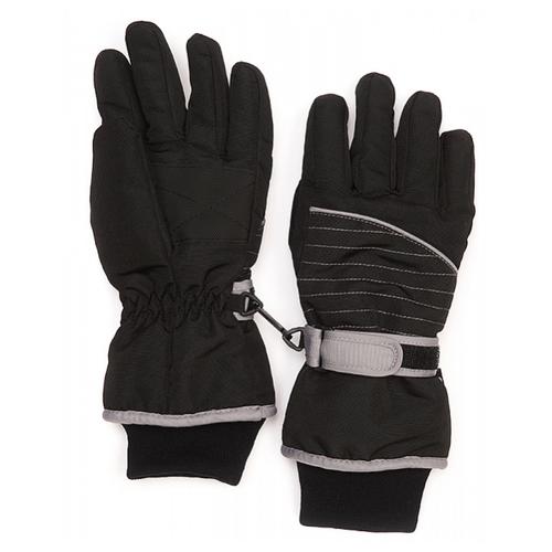 Фото - Перчатки Oldos размер 7-8, черный/серый перчатки женские fabretti цвет черный зеленый 12 66 1 15 black green размер 7 5