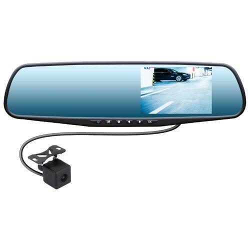 Видеорегистратор SWAT VDR-4U, 2 камеры, черный