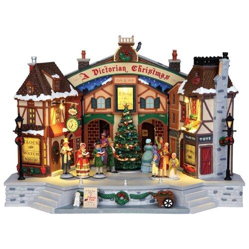 Фигурка LEMAX композиция Викторианское Рождество 36 х 26.5 х 22.5 см коричневый/серый по цене 29 400