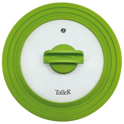 Крышка Taller TR-8006 (24 см) прозрачный/зеленый