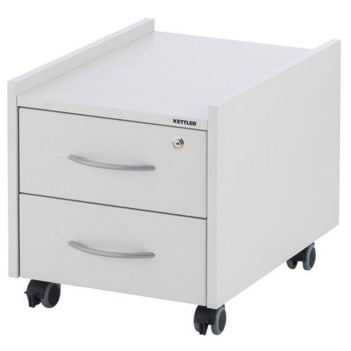 Фото - Тумба для парты KETTLER Sit On с замком, ШхГхВ: 42х57х43 см, цвет: белый ящик kettler w40106 белый серый