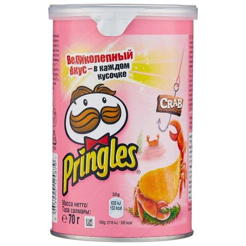 Чипсы Pringles картофельные Crab, 70 г