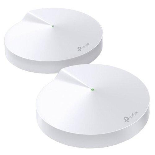 Wi-Fi роутер TP-LINK Deco M9 Plus (2-pack) белый mesh wi fi система tp link deco m9 plus 3 pack