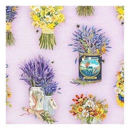 Ткань Robert Kaufman EVERYDAY FAVORITES для пэчворка фасовка 50 x 55 см 146±5 г/кв.м AMKD-17446 23 lavender