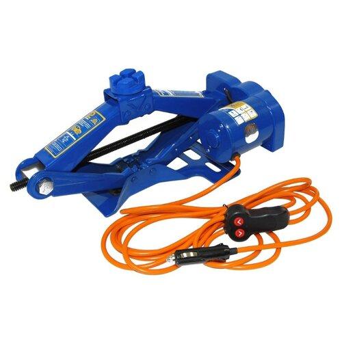 Домкрат винтовой электромеханический KRAFT КТ 850000 (2 т) синий