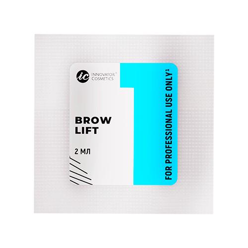 Innovator Cosmetics Состав #1 для долговременной укладки бровей Brow Lift (саше) innovator cosmetics состав 1 для долговременной укладки бровей brow lift