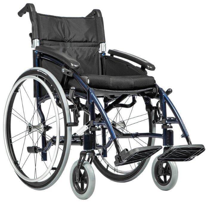 Кресло-коляска механическое Ortonica Base 185, ширина сиденья: 480 мм