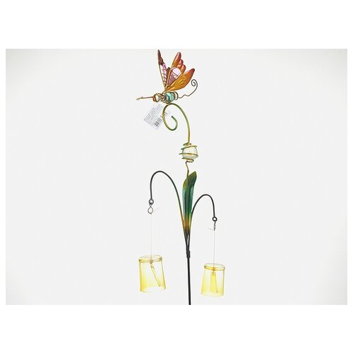 Фигура декоративная для сада Комарик, 24x6x136 см