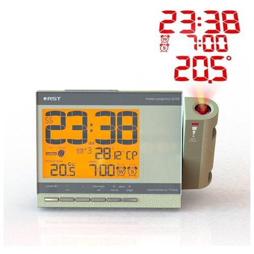 Проекционные часы-будильник Q758