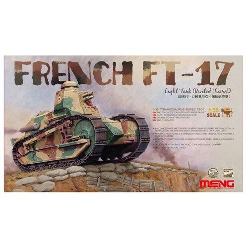 Сборная модель Meng Model French FT-17 Light Tank (riveted turret) (TS-011) 1:35 meng ping ni chinas und hongkongs sozialpolitik