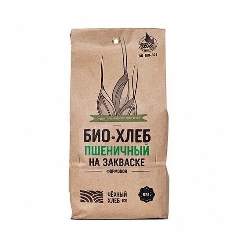 Чёрный хлеб Смесь для выпечки Био-хлеб пшеничный формовой на закваске, 0.525 кг свой хлеб