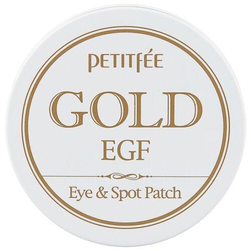 Petitfee Гидрогелевые патчи для век с золотыми частицами и фактором роста Gold & EGF eye & spot patch (90 шт.) гидрогелевые патчи petitfee