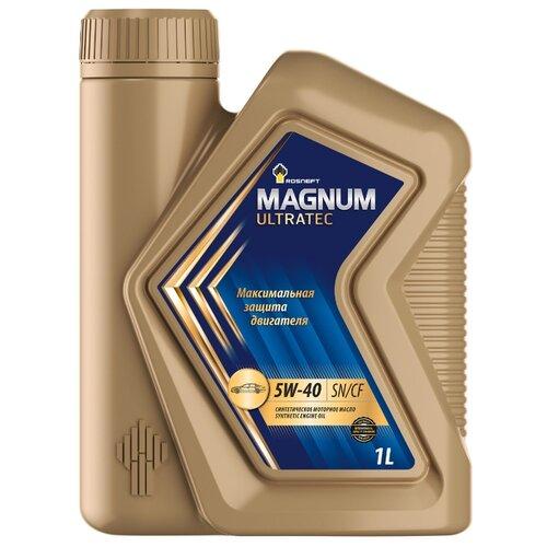 Моторное масло Роснефть Magnum Ultratec 5W-40 1 л