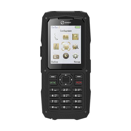 Телефон SENSEIT P210w черный