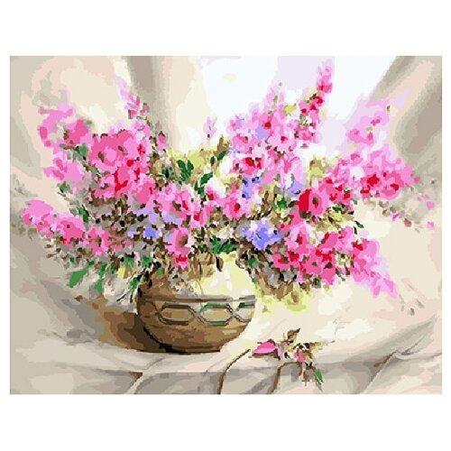 Купить ВанГогВоМне Картина по номерам Чарующий букет , 40х50 см (ZX 22161), Картины по номерам и контурам