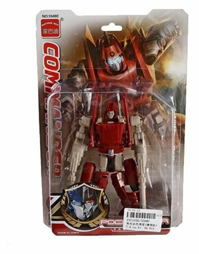 Трансформер Machine Boy Pocket War Commander 5508C