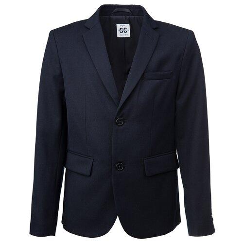 Купить Пиджак playToday размер 152, темно-синий, Пиджаки
