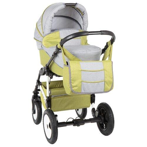 Купить Универсальная коляска Marimex Armel Лен (2 в 1) зеленый/серый, Коляски