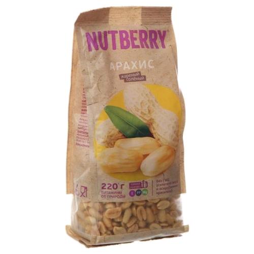 corincorn арахис жареный соленый 100 г Арахис NUTBERRY жареный соленый бумажный пакет 220 г