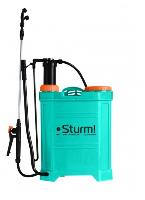 Аккумуляторный опрыскиватель Sturm! GS8216BM